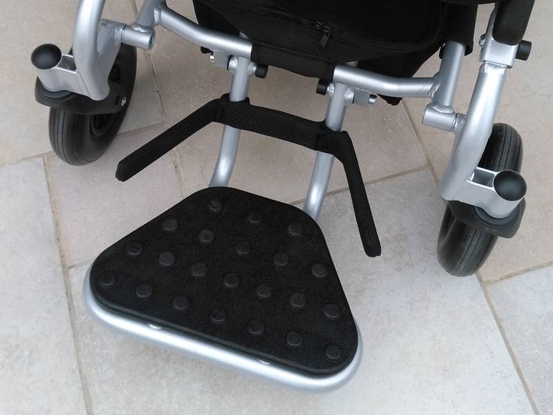 eloflex foldable power electric wheelchair portable compact lightweight